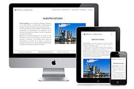 Diseño de Página Web para Arquitecto