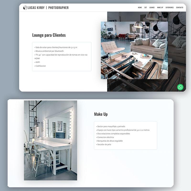 Sitios web para estudios profesionales - Mariana Kirby Diseño Web